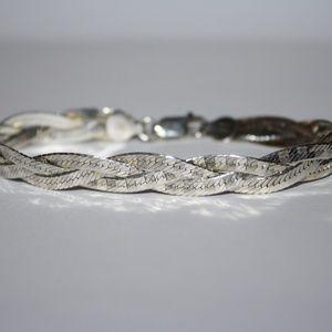Jewelry - Sterling Silver Braided Bracelet Milor
